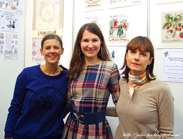 les brodeuses parisiennes, парижские вышивальщицы, атмосфера творчества