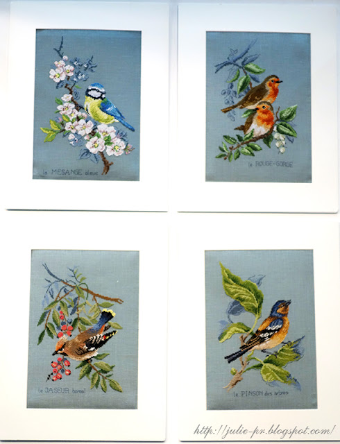 les brodeuses parisiennes, парижские вышивальщицы, атмосфера творчества, veronique enginger, птицы