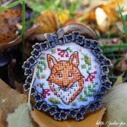 Осенний лисёнок