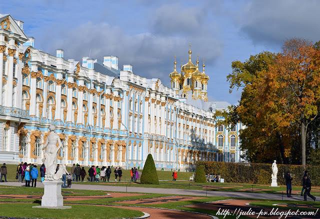 Золотая осень, Царское село, Екатерининский дворец