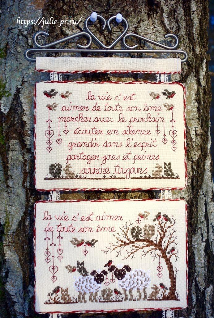 Вышивка крестом Miettes de sagesse / Крупицы мудрости Renato Parolin