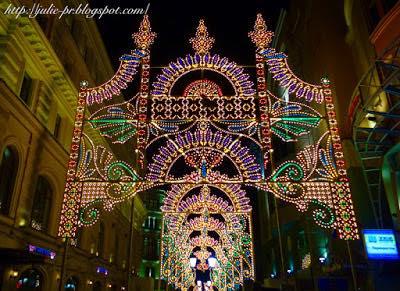 Новогодняя Москва, Никольская улица