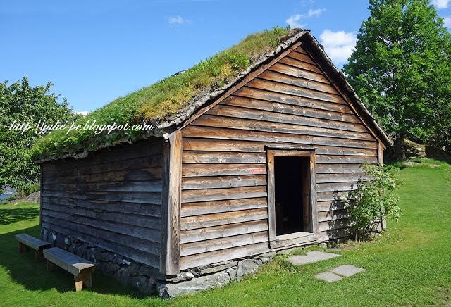Хардангер, Норвегия, Утне, Этнографический музей Хардангера, Hardanger Folkemuseum