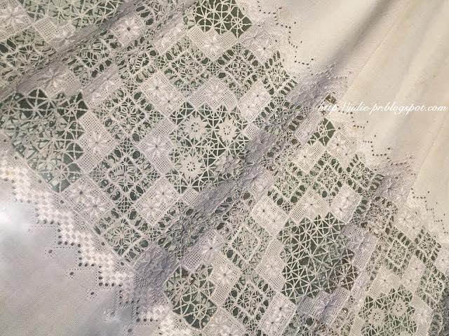 Вышитый передник Бриты Скалтвейт (Brita Skaltveit), Хардангер, Норвегия, Утне, Этнографический музей Хардангера, Hardanger Folkemuseum, вышивка