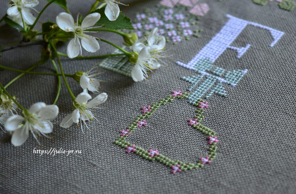 Madame Chantilly - My love, вышивка крестом
