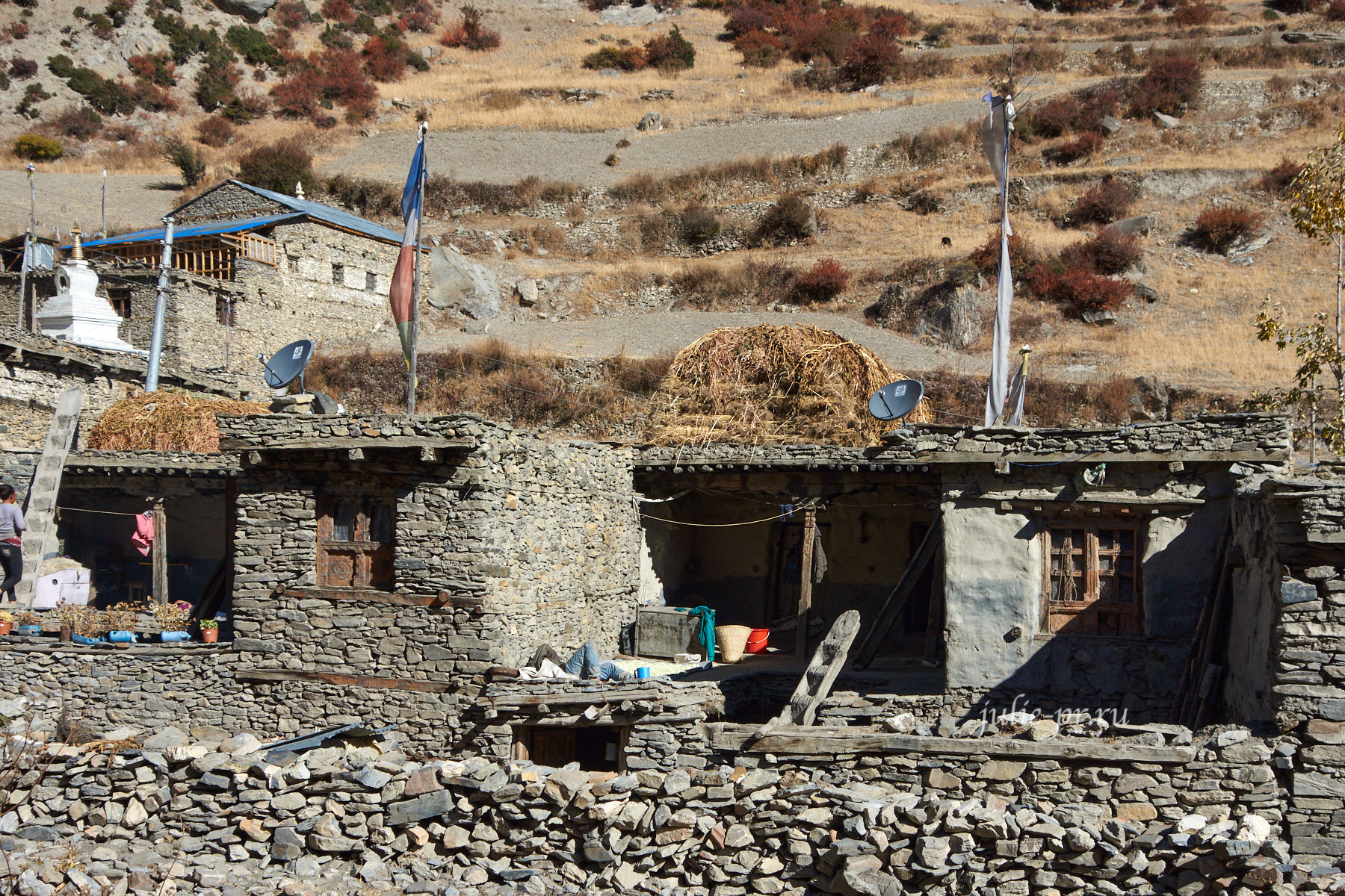 Непал, деревня Кхангсар