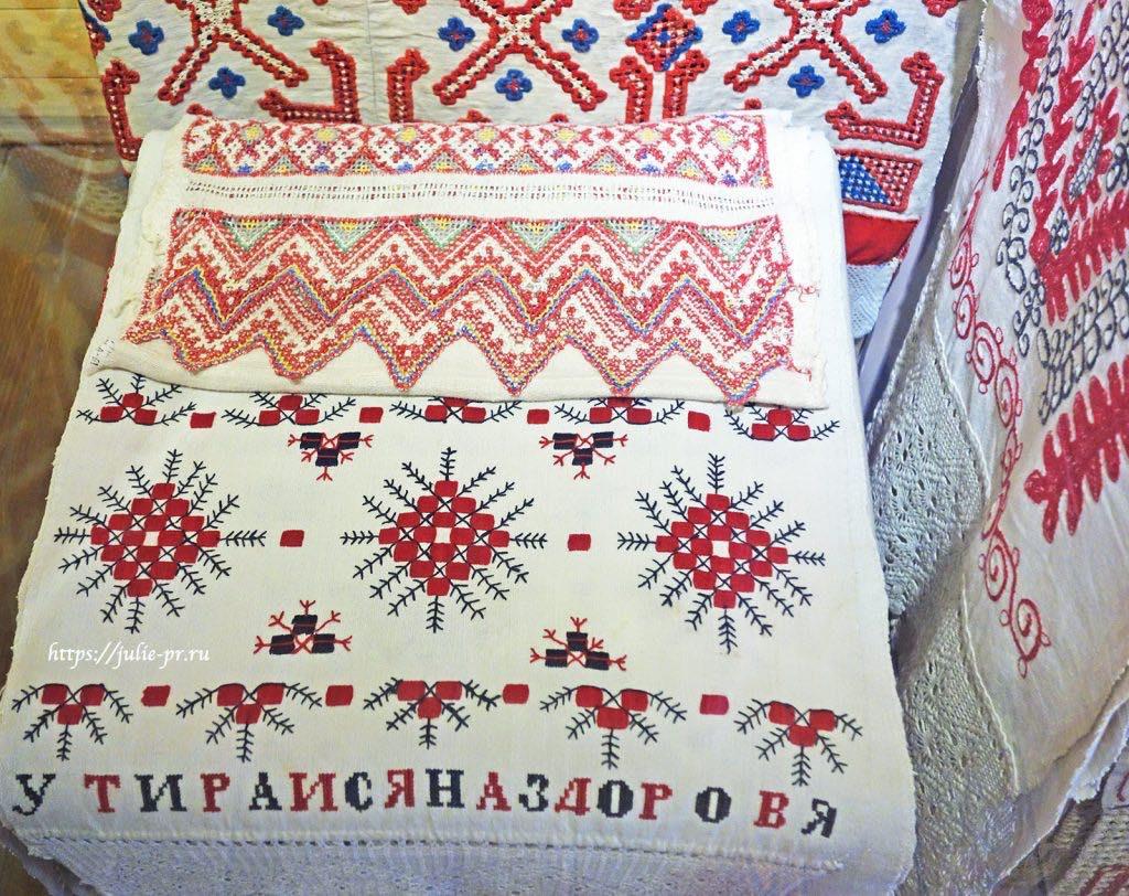 Выставка Полотенце вышито на счастье, Москва, Коломенское