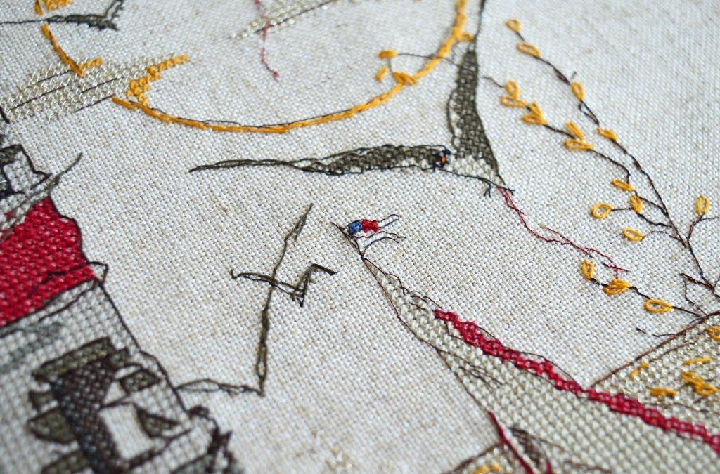 Вышивка крестом Soizic — Le phare aux mouettes