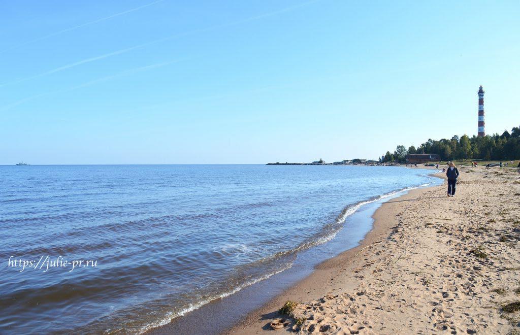 Ладожское озеро, Осиновецкий маяк