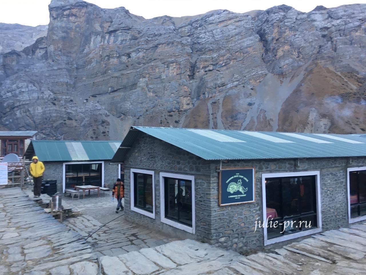 Лагерь Торонг-Педи, Непал
