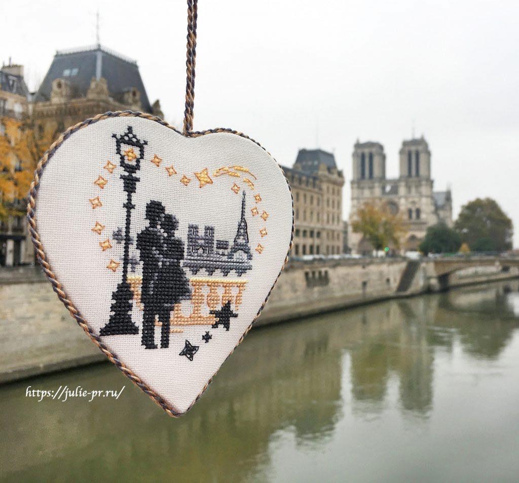 Вышивка крестом Paris est un poeme Les brodeuses parisiennes / Парижские вышивальщицы