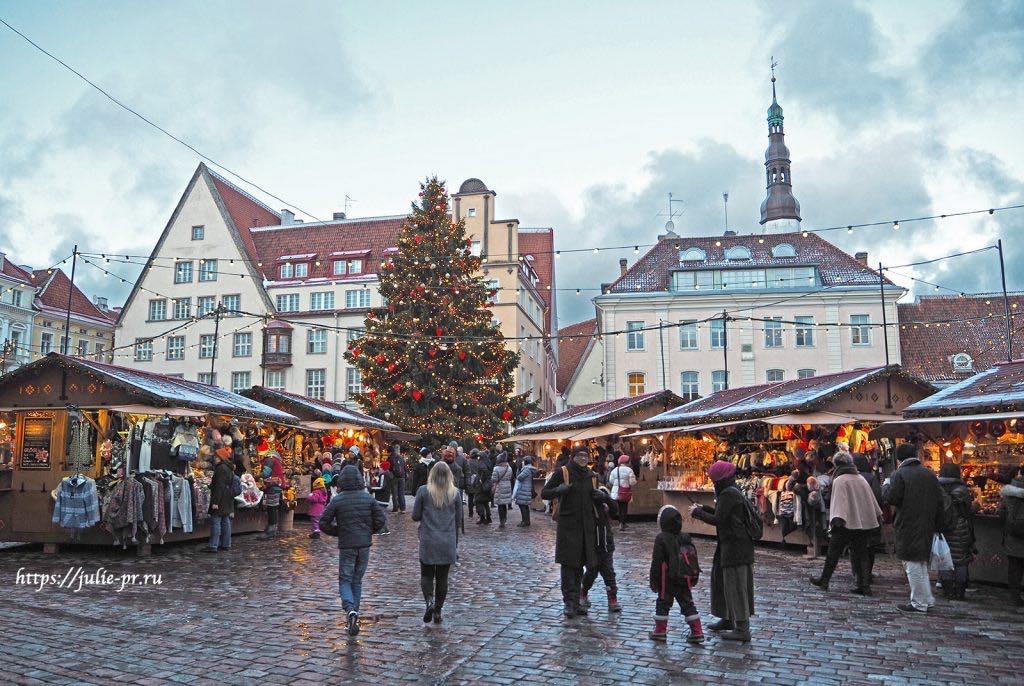 Таллин, Эстония, Ратушная площадь