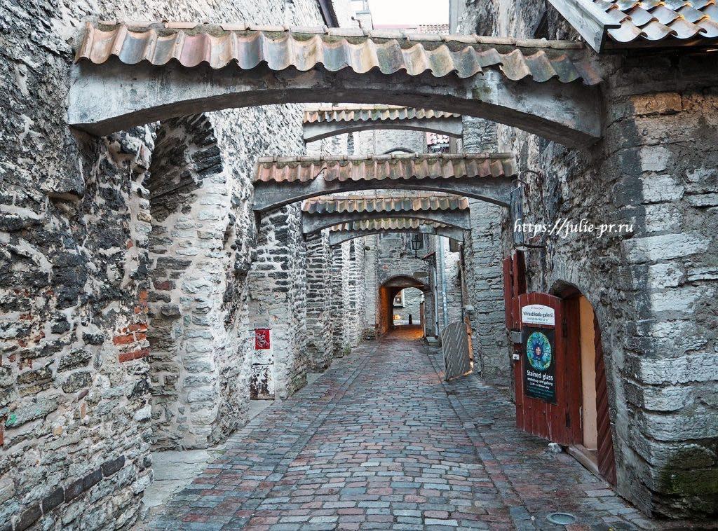 Таллин, переулок Катарины