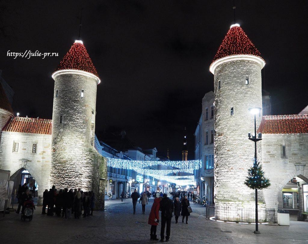 Таллин, ворота Виру