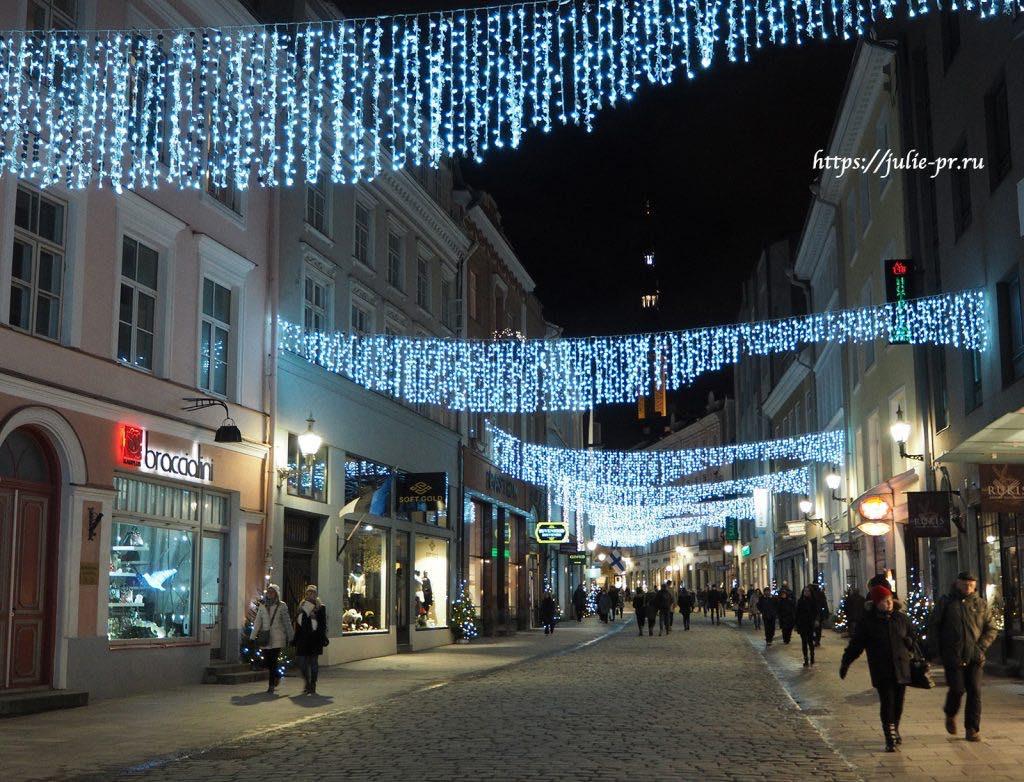 Таллин, улица Виру