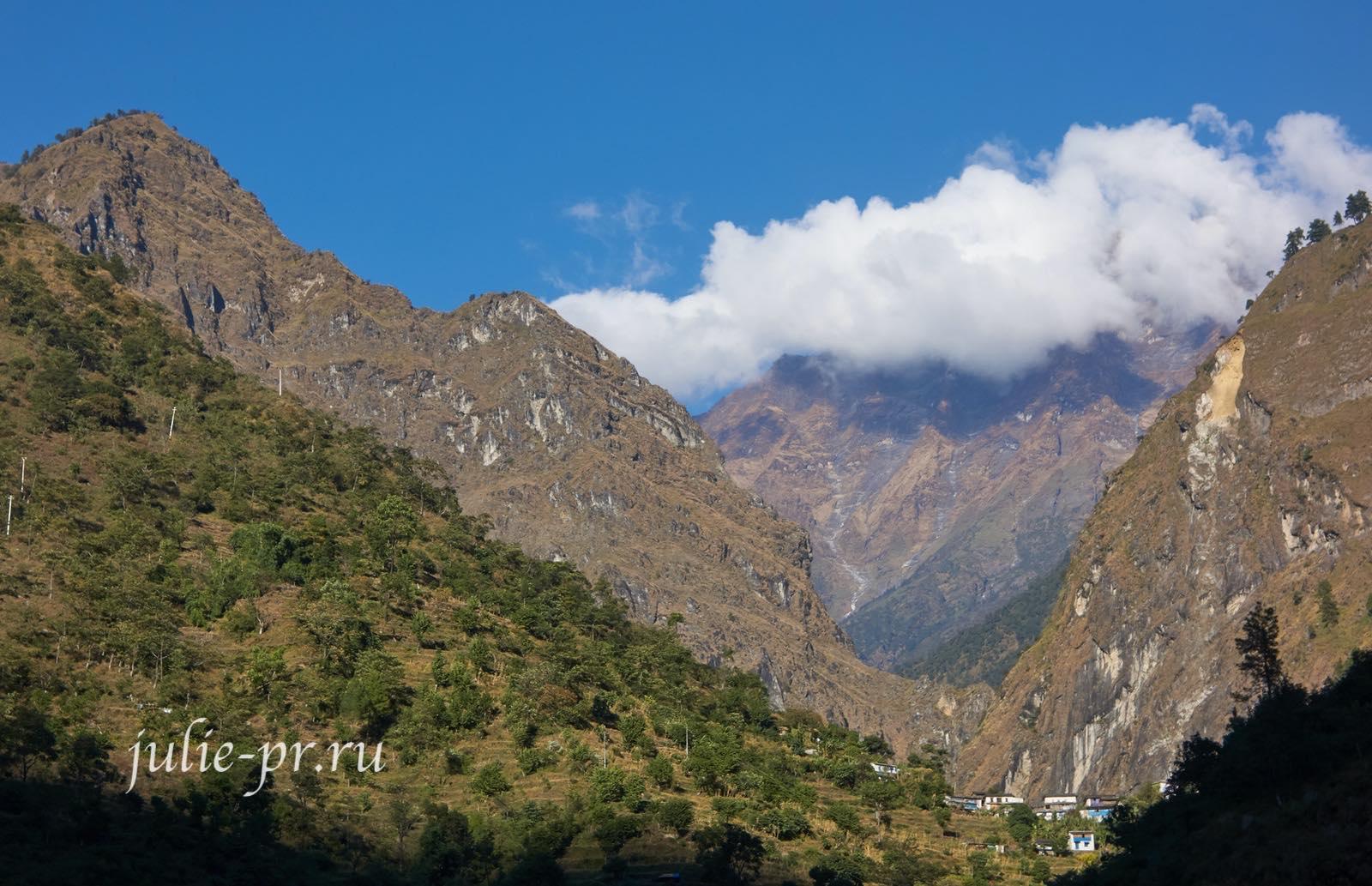 Непал, Трек вокруг Аннапурны, долина Кали-Гандаки