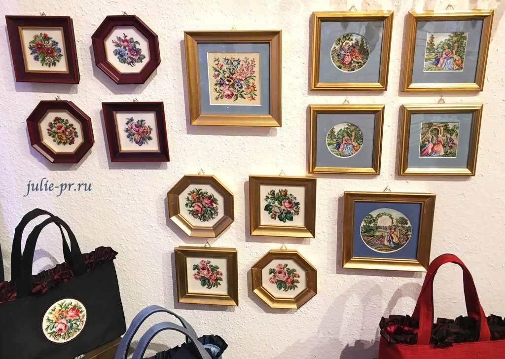 магазин Petit point, Maria Stranski, Вена, вышивка петит поинт