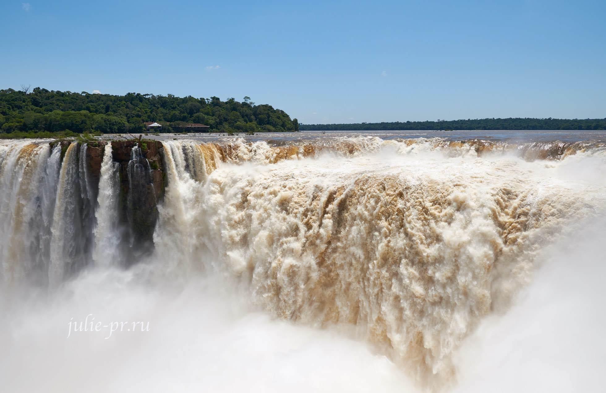 Аргентина, водопады Игуасу