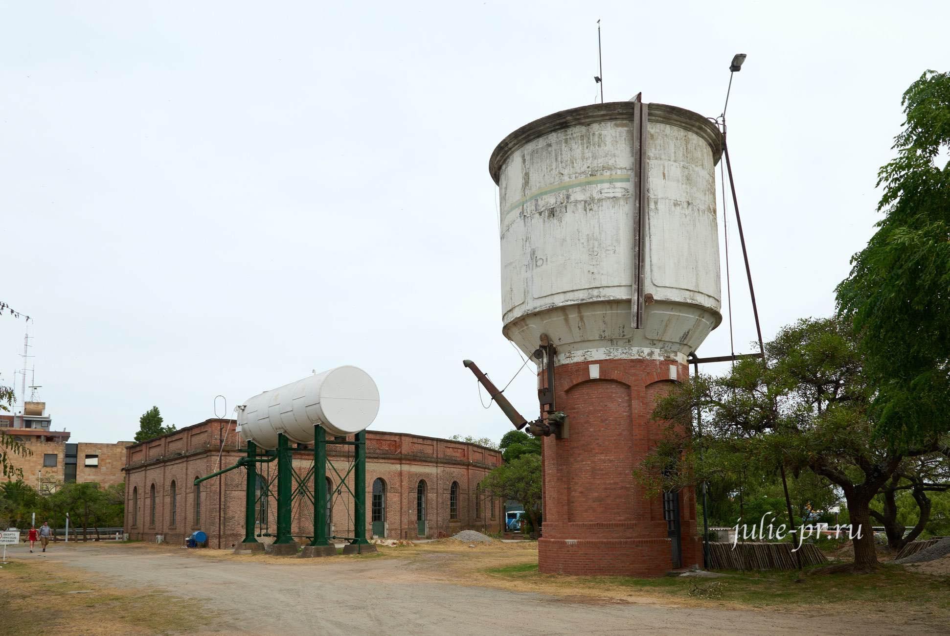 Уругвай, Колония-дель-Сакраменто, Башня для заправки паровозов водой
