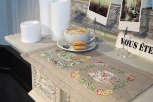 Коллекция чашек, Парижские вышивальщицы, Collection De Tasses, Les Brodeuses Parisiennes, Veronique Enginger