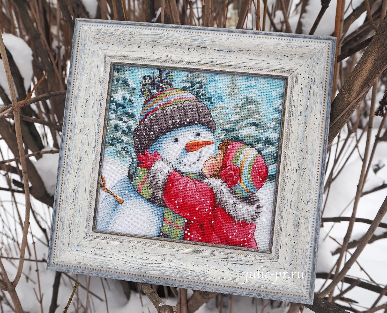 Поцелуй для снеговика
