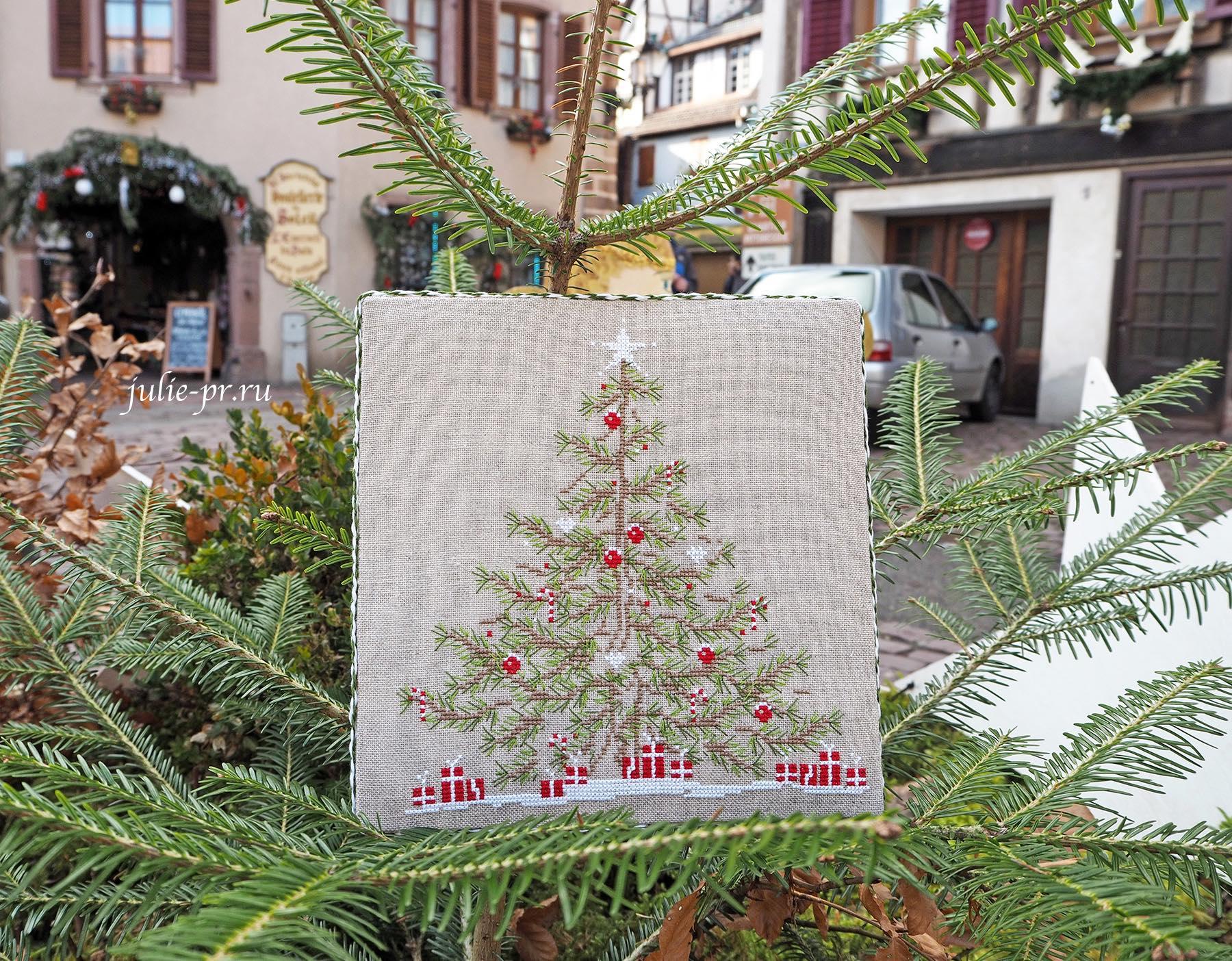 Jennifer Lentini 1614 Mon Beau Sapin / Моя красивая елка, вышивка крестом, Une Croix, Le Temps D'un The