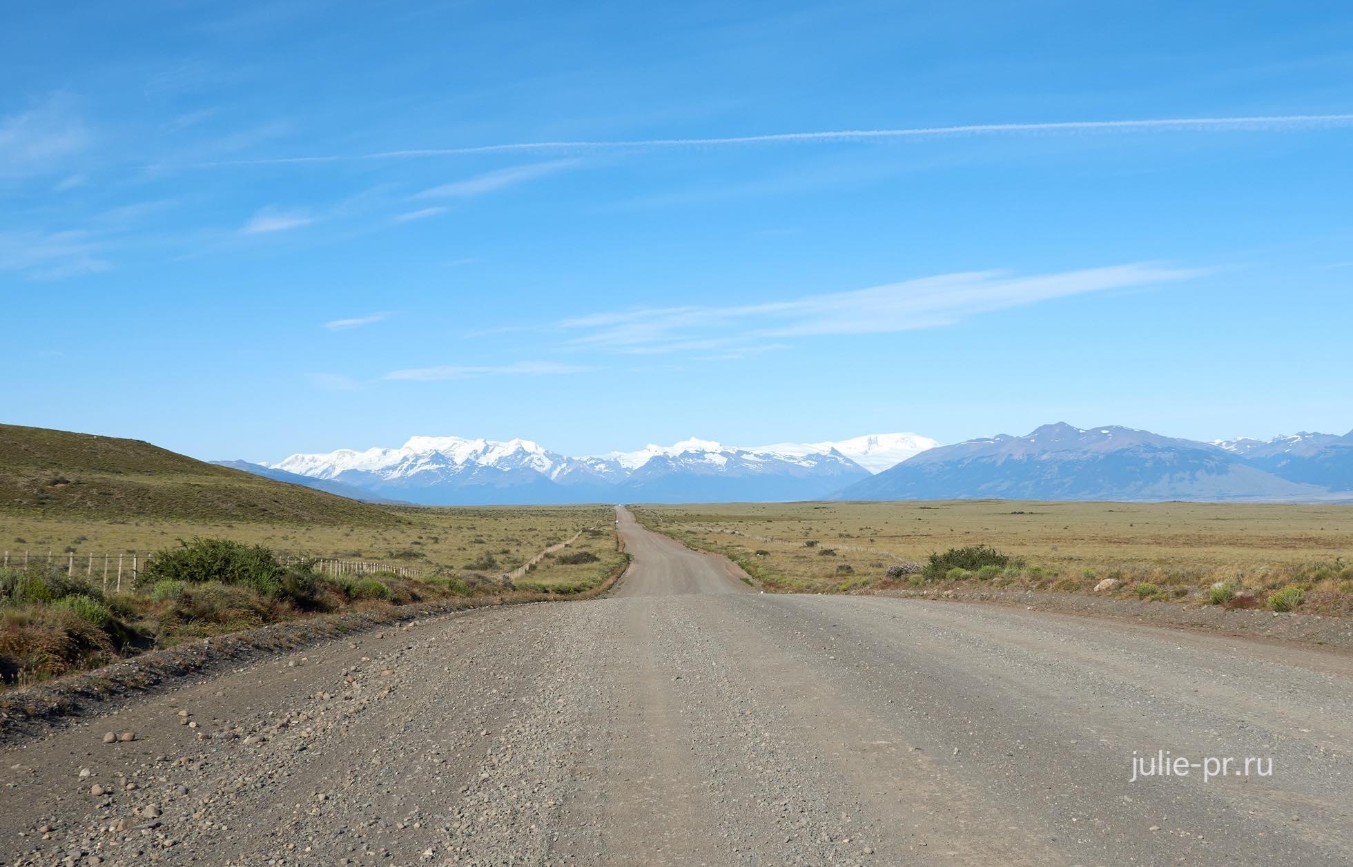 Аргентина, Патагония, дорога