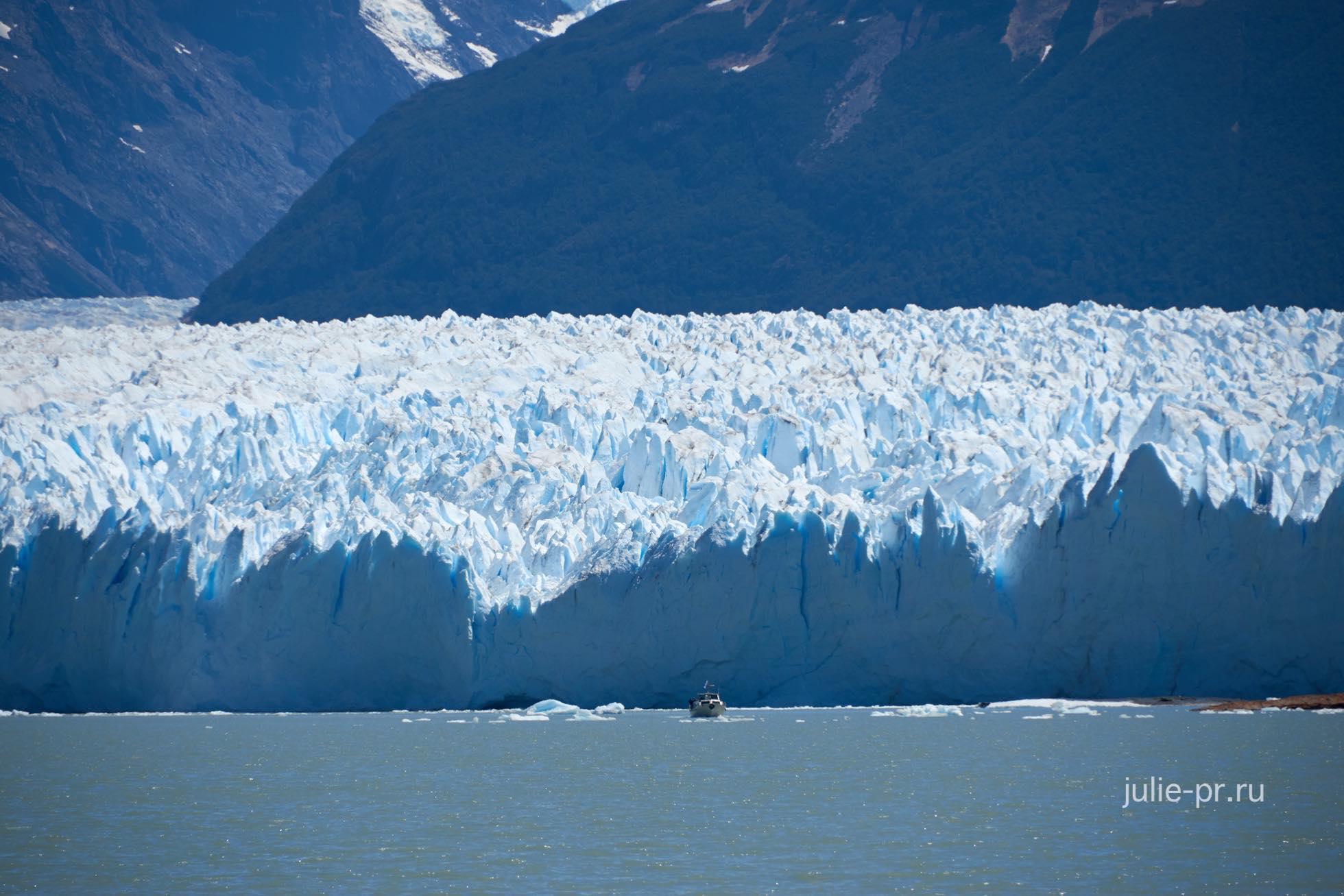 Аргентина, Патагония, ледник Перито-Морено