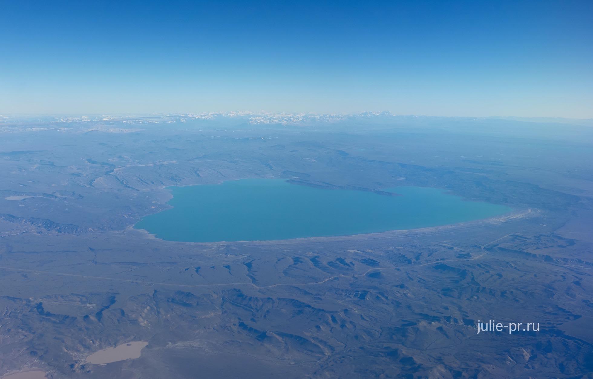 Аргентина, Патагония с самолёта