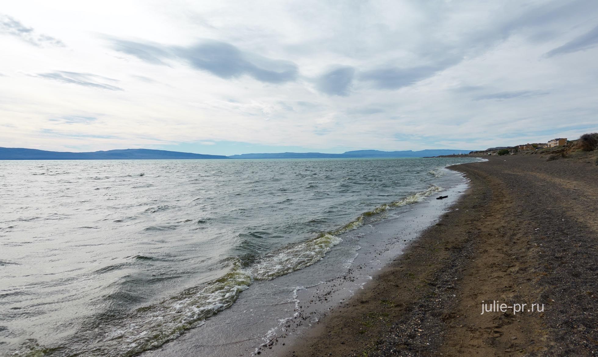 Аргентина, Патагония, Эль-Калафате, озеро Архентино