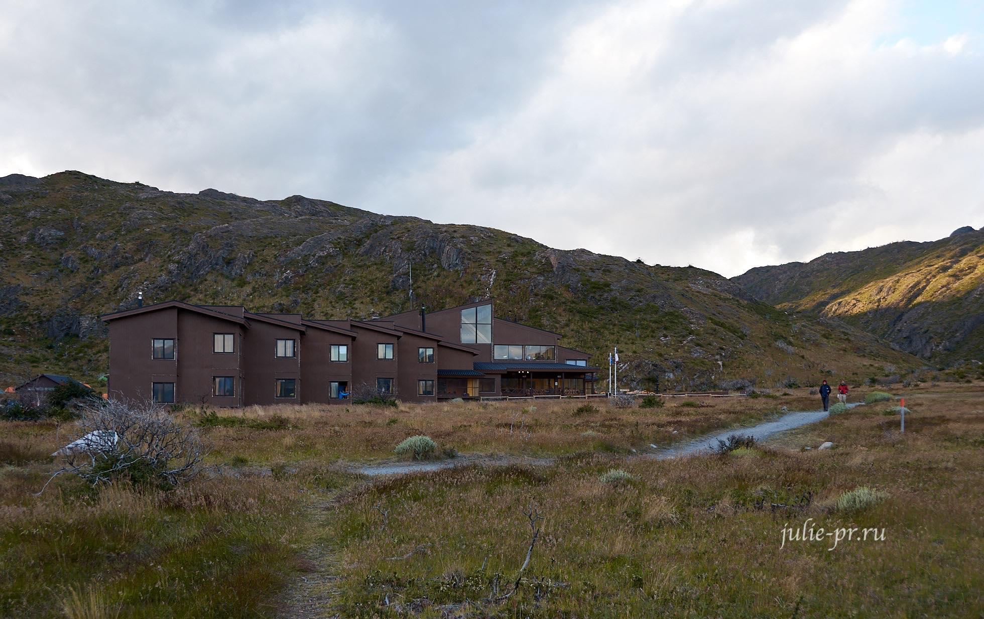 Чили, Патагония, Торрес-дель-Пайне, лагерь Пайне-Гранде