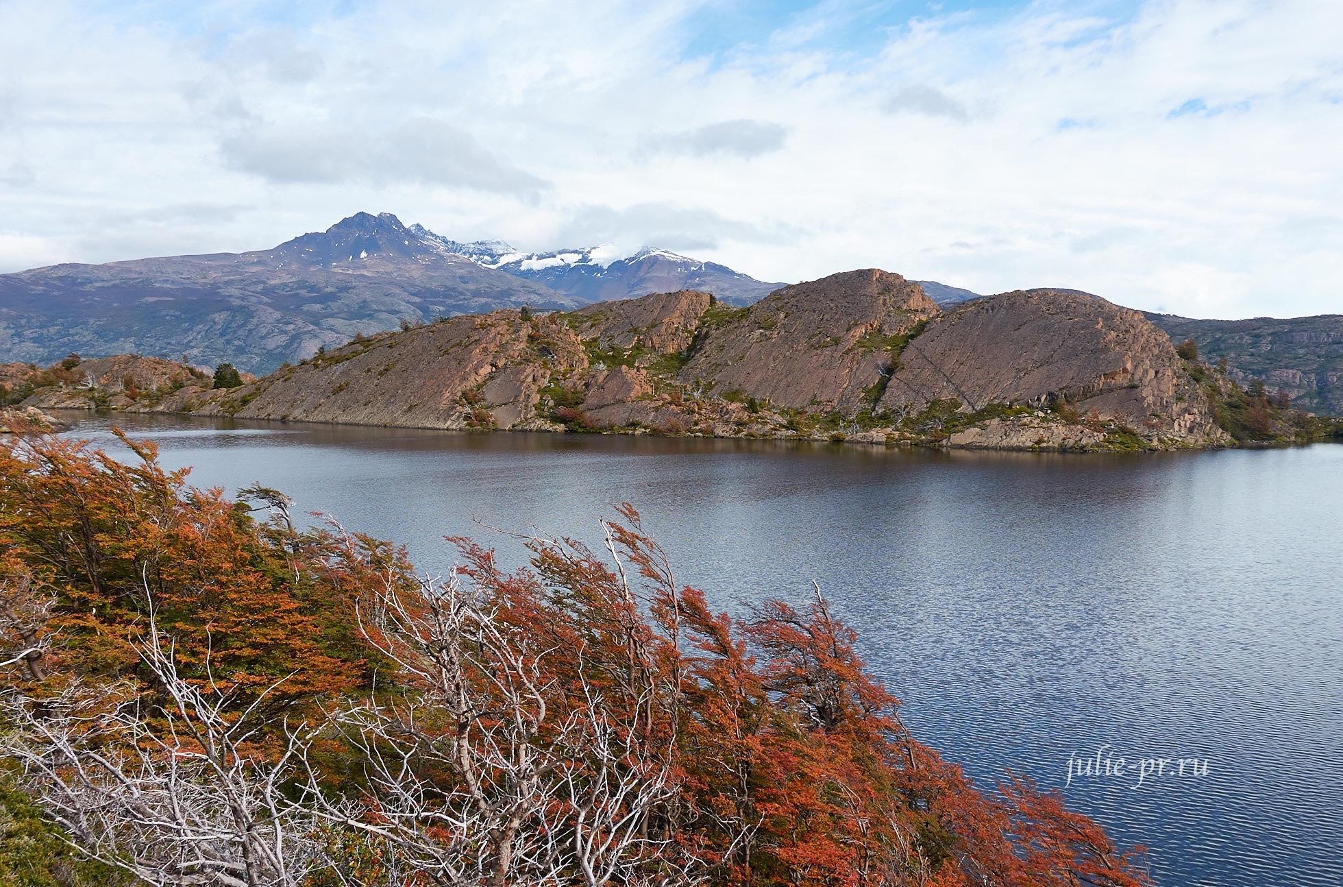 Чили, Патагония, Торрес-дель-Пайне, лагуна Лос-Патос