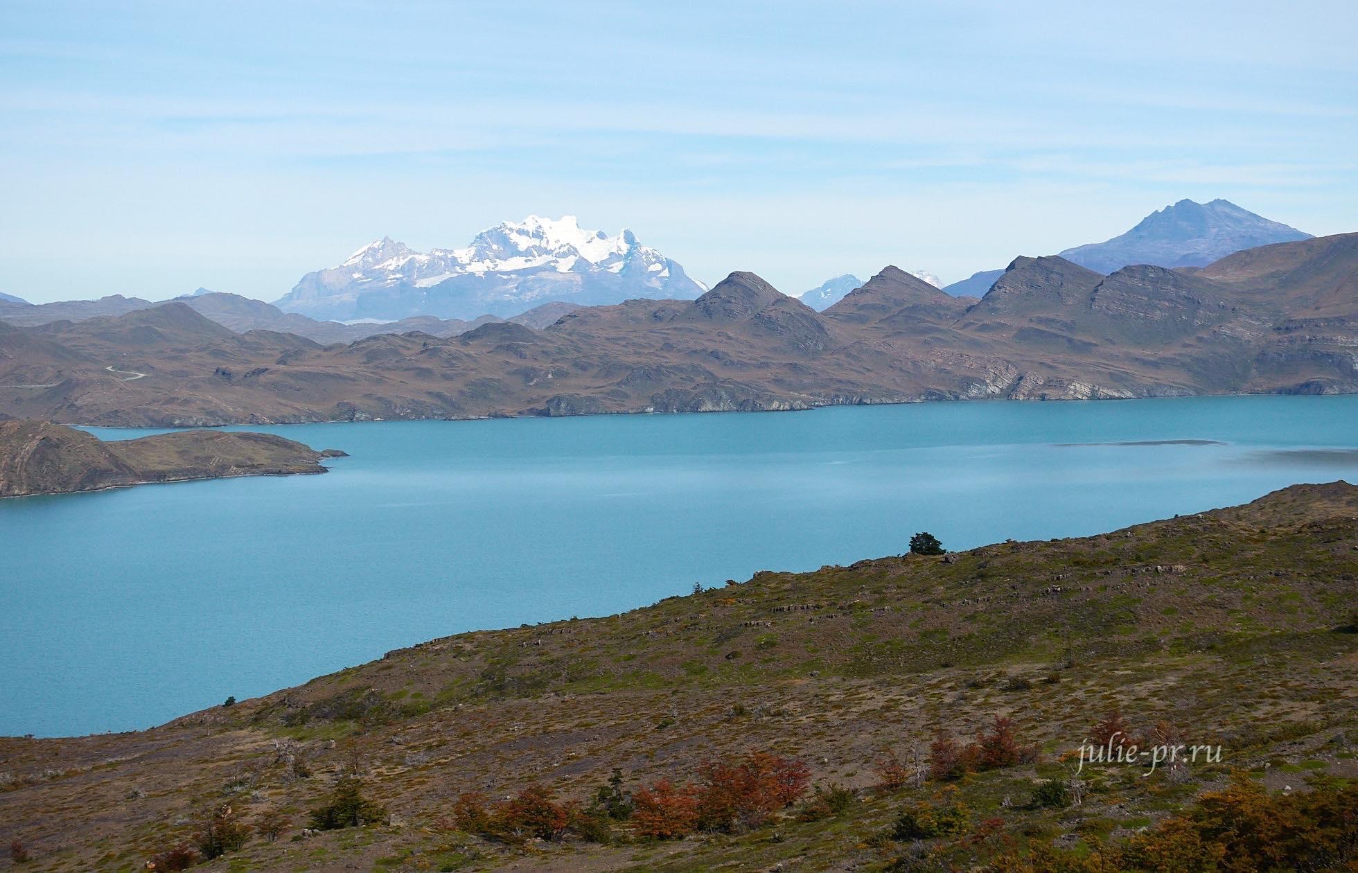 Чили, Патагония, Торрес-дель-Пайне, Озеро Норденшёльд