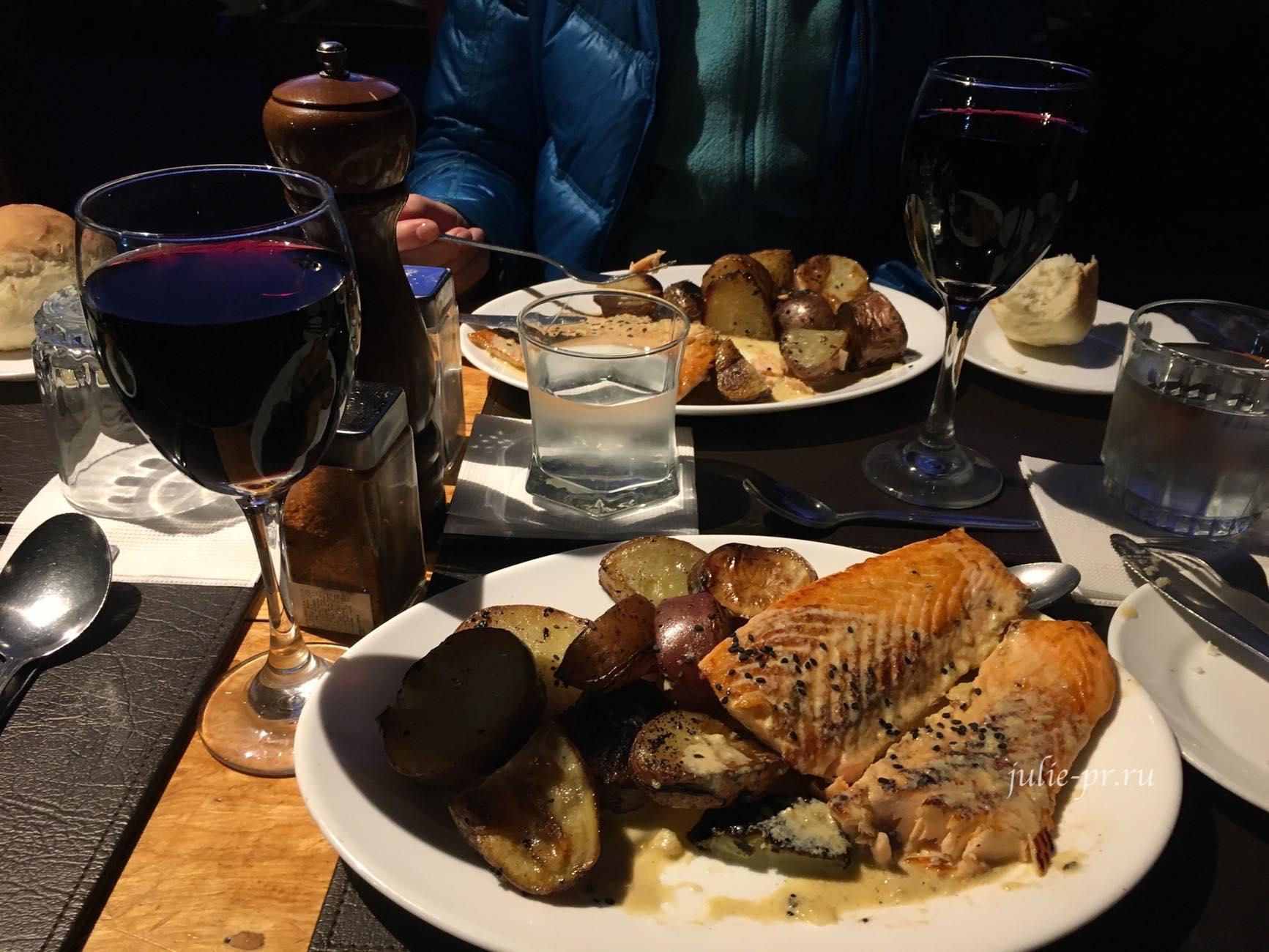 Чили, Патагония, Торрес-дель-Пайне, Ужин в лагере Лос-Куэрнос