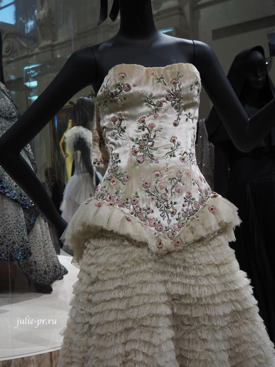 Платье Lina - John Galliano для Christian Dior (haute couture весна/лето 1997)