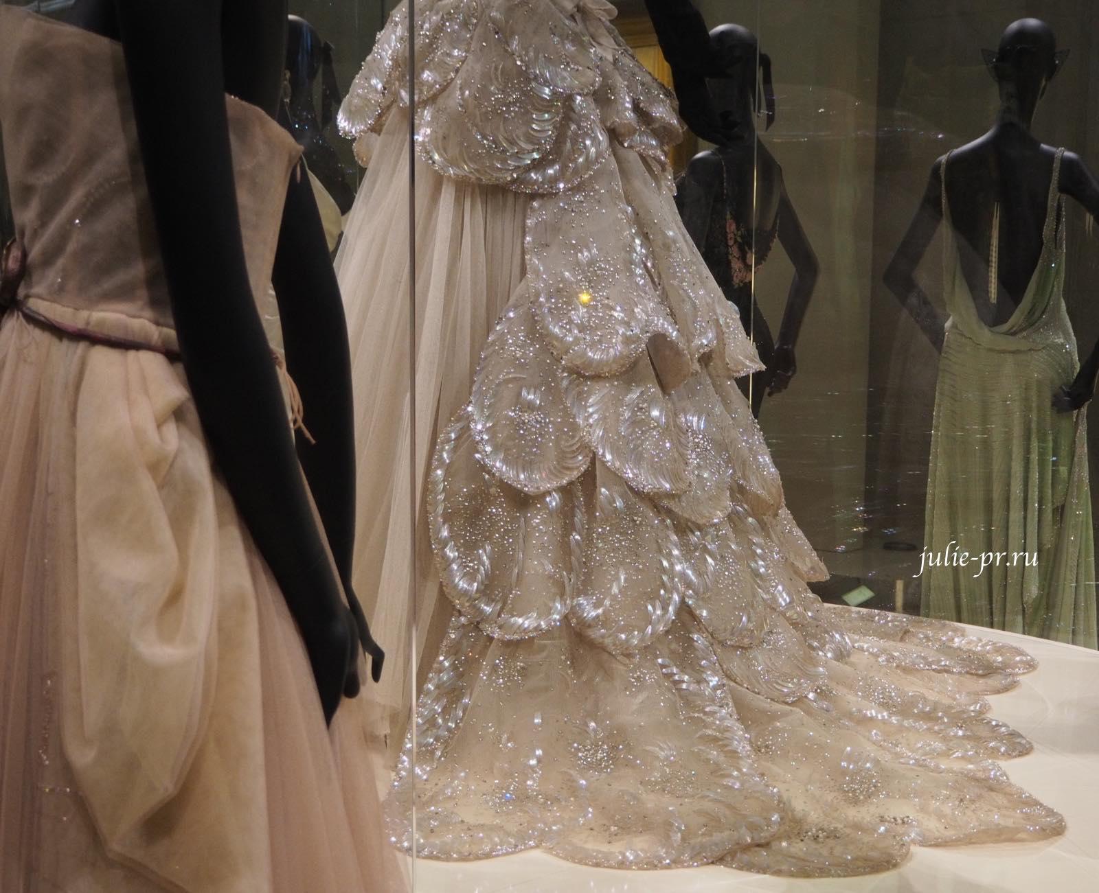 Платье Venus (Christian Dior осень/зима 1949). Вышивка