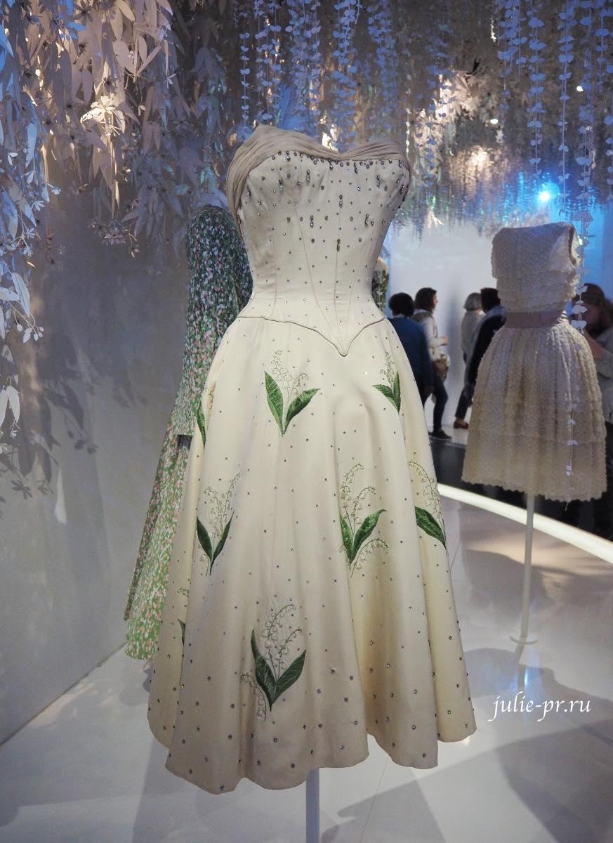 Платье с ландышами (Christian Dior Haute couture 1956)