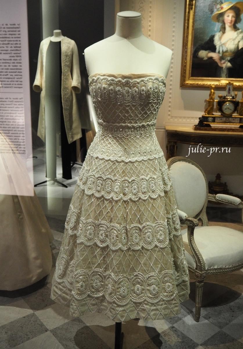 Платье Romance (Christian Dior Haute couture весна/лето 1956)