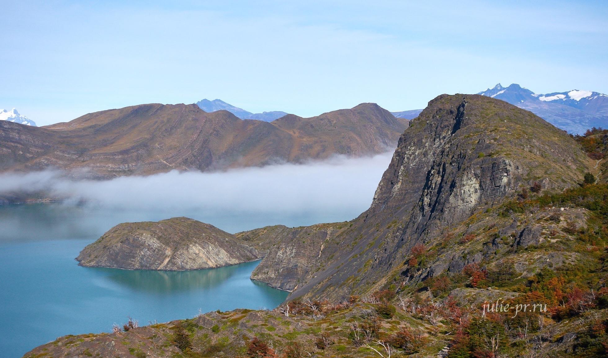 Чили, Патагония, Торрес-дель-Пайне, Lago Nordenskjöld