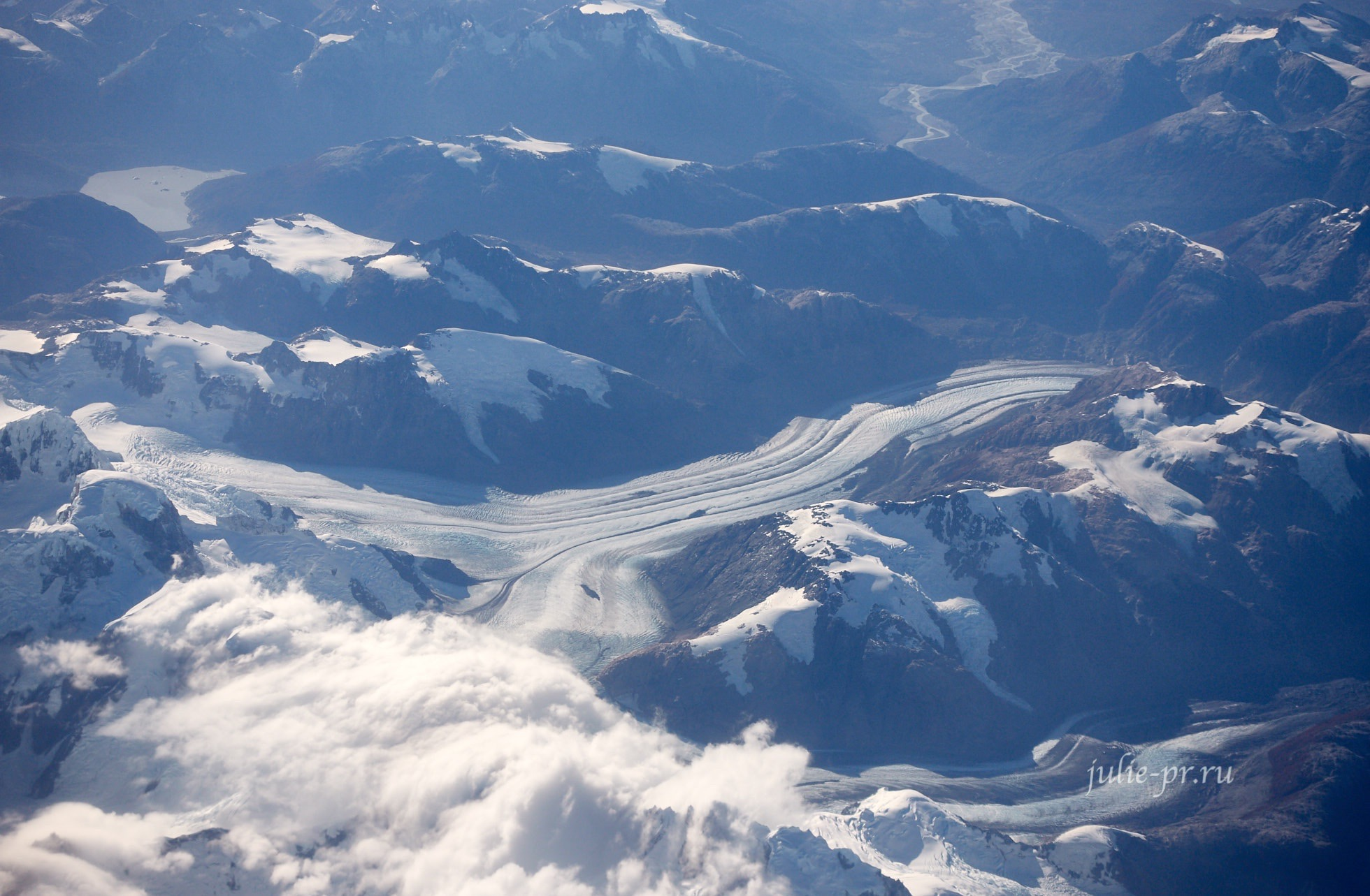 Чили, Патагония, Анды, Ледник