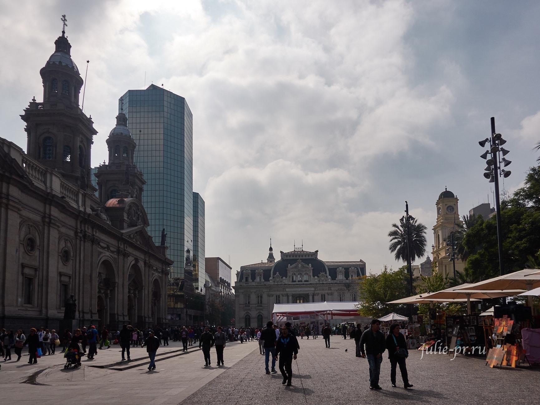 Чили, Сантьяго, Plaza de Armas