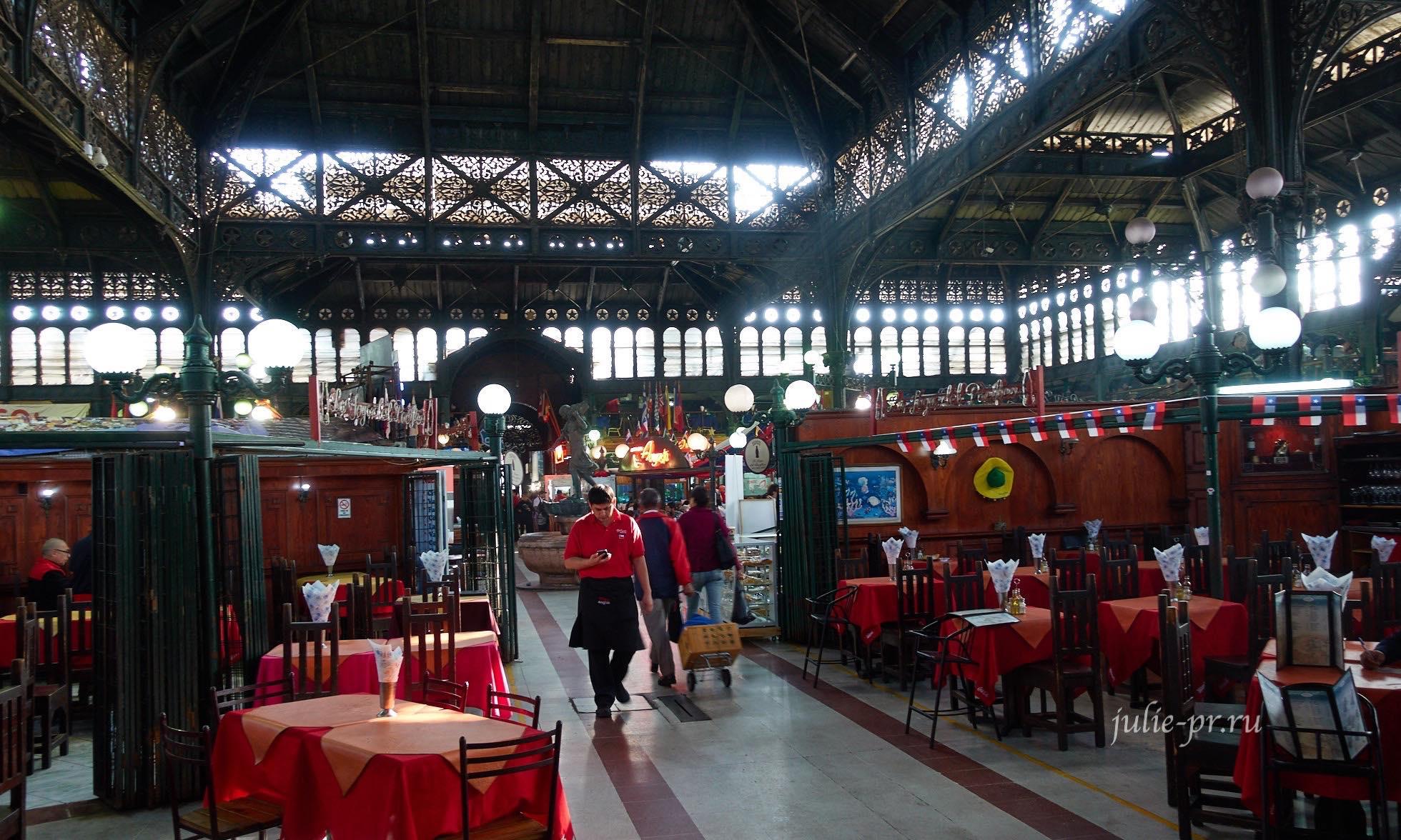 Чили, Сантьяго, Рынок