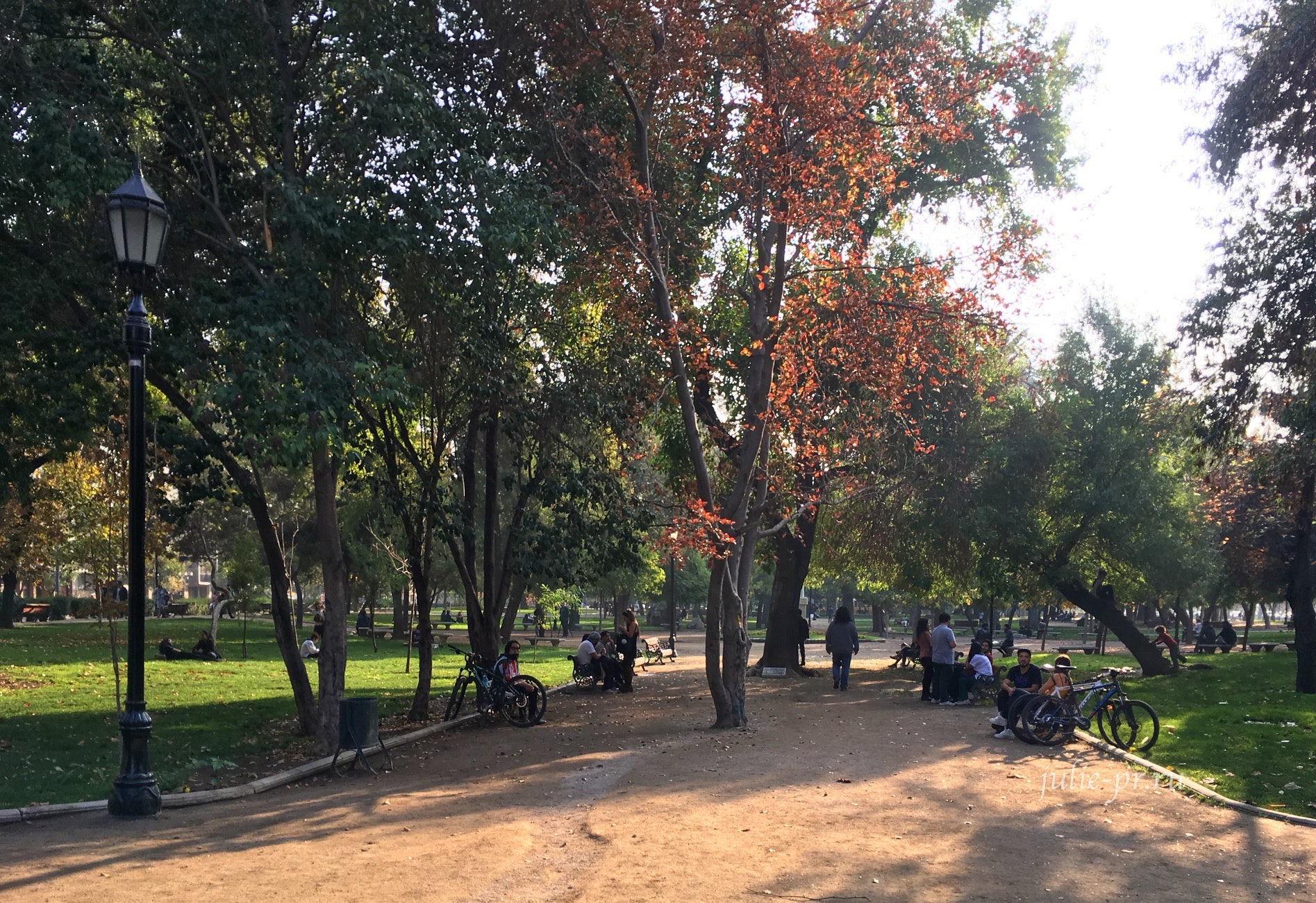 Чили, Сантьяго, Парк