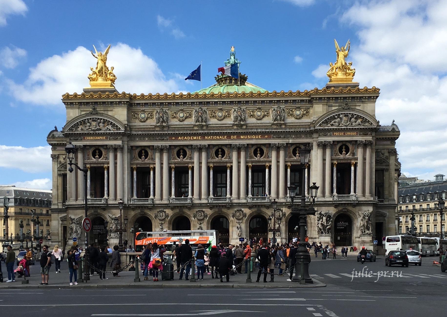 Франция, Париж, Опера