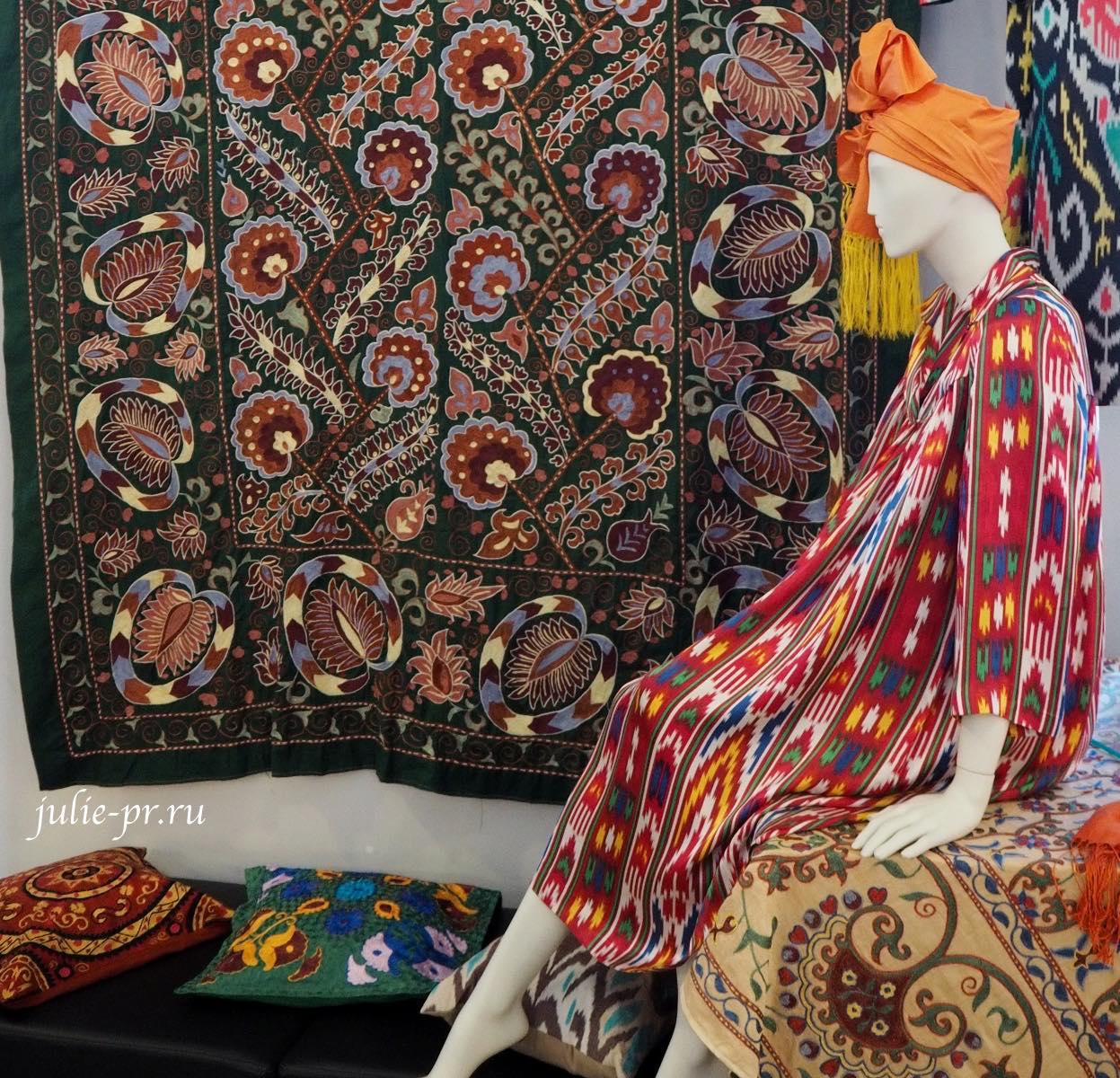 Вышивка Узбекистана, музей моды, выставка И шёлк привидится в дыхании песков… Хранители вышивки Узбекистана
