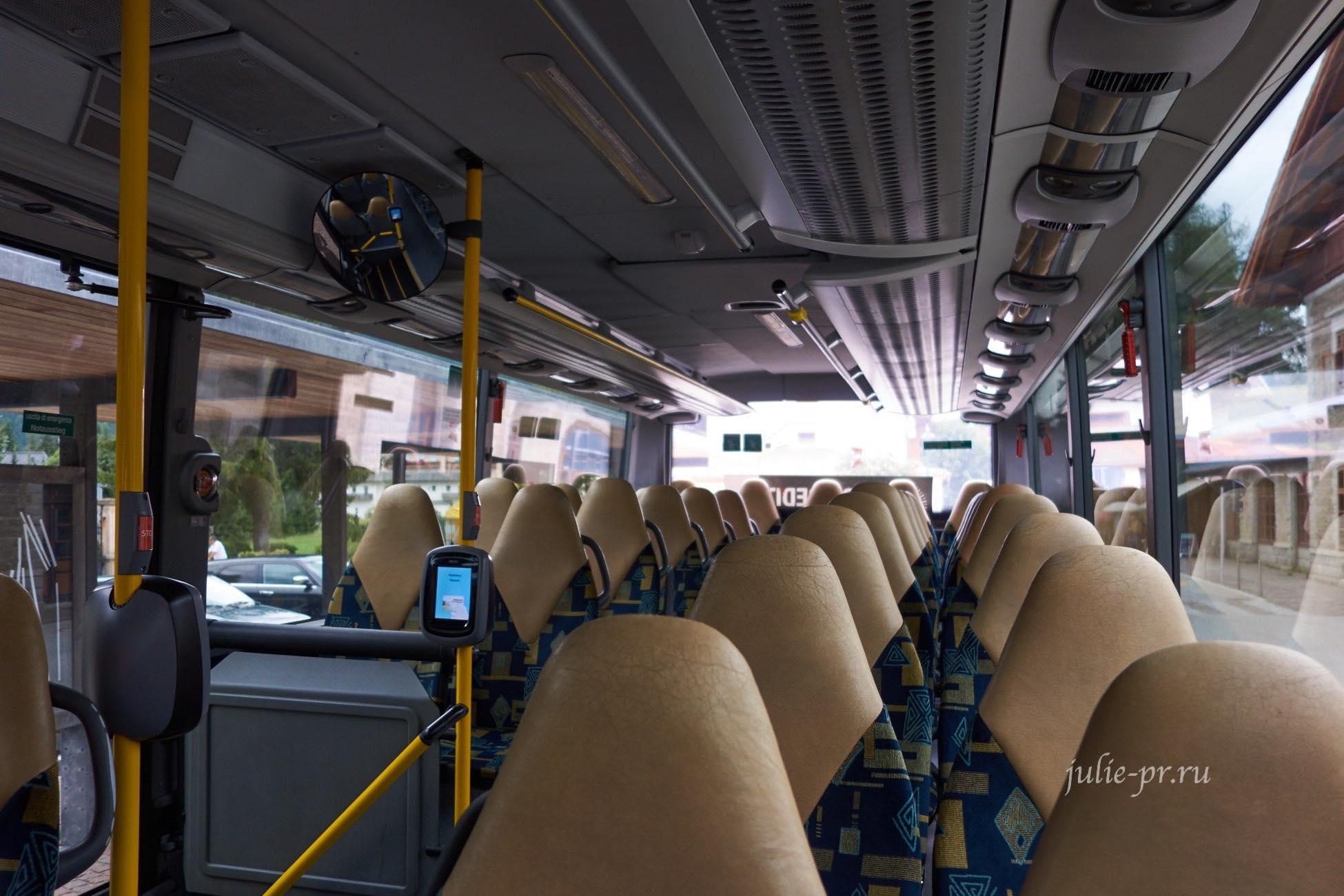 Италия, автобус