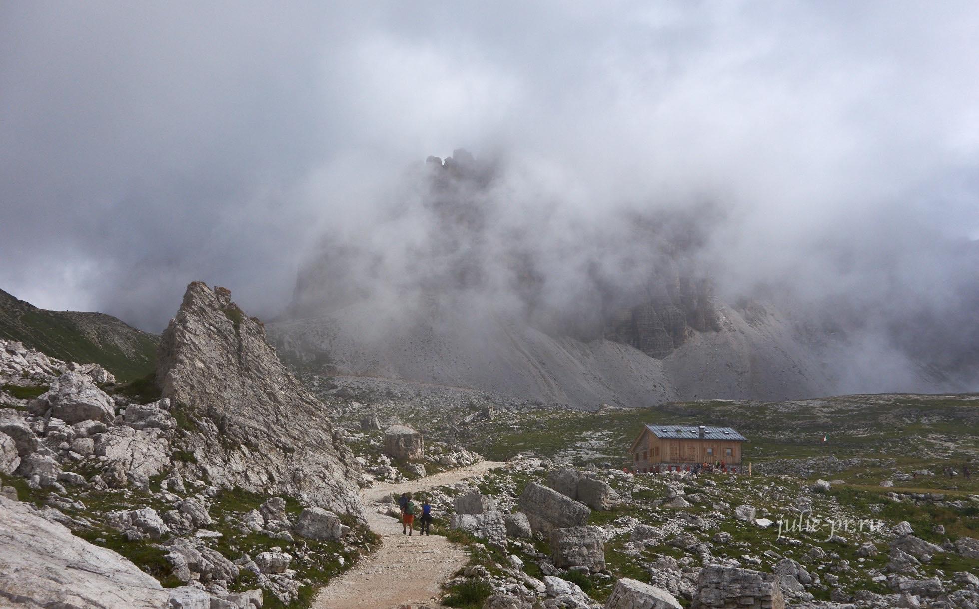 Италия, Альпы, Доломиты, Rifugio Lavaredo