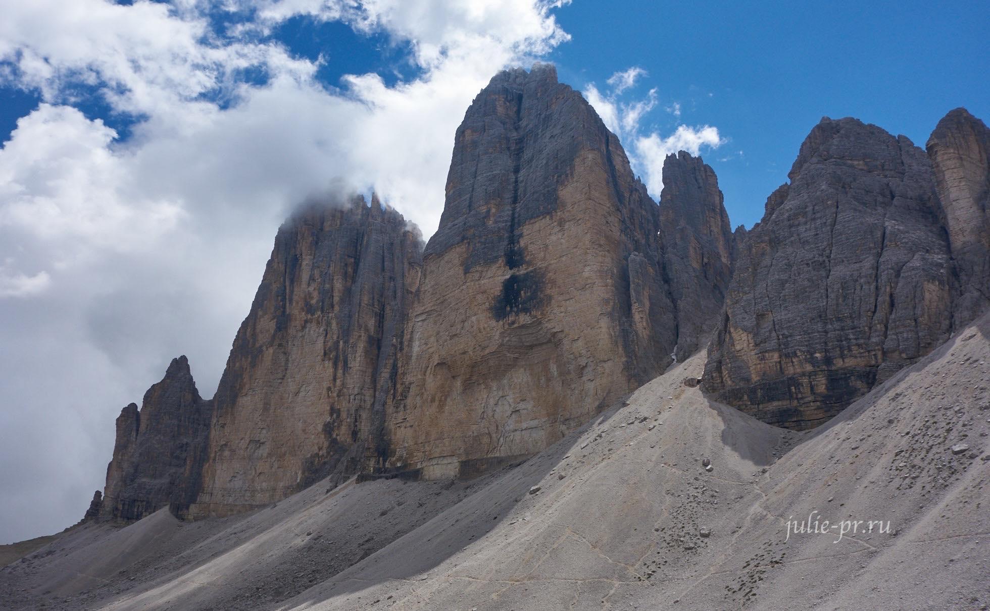 Италия, Альпы, Доломиты, Tre Cime di Lavaredo