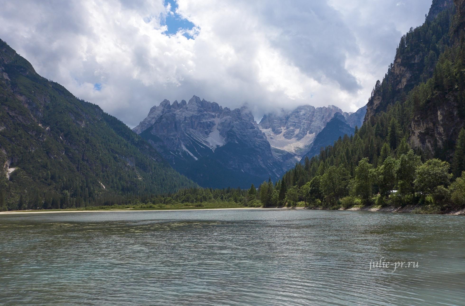 Италия, Альпы, Доломиты, Lago di Landro