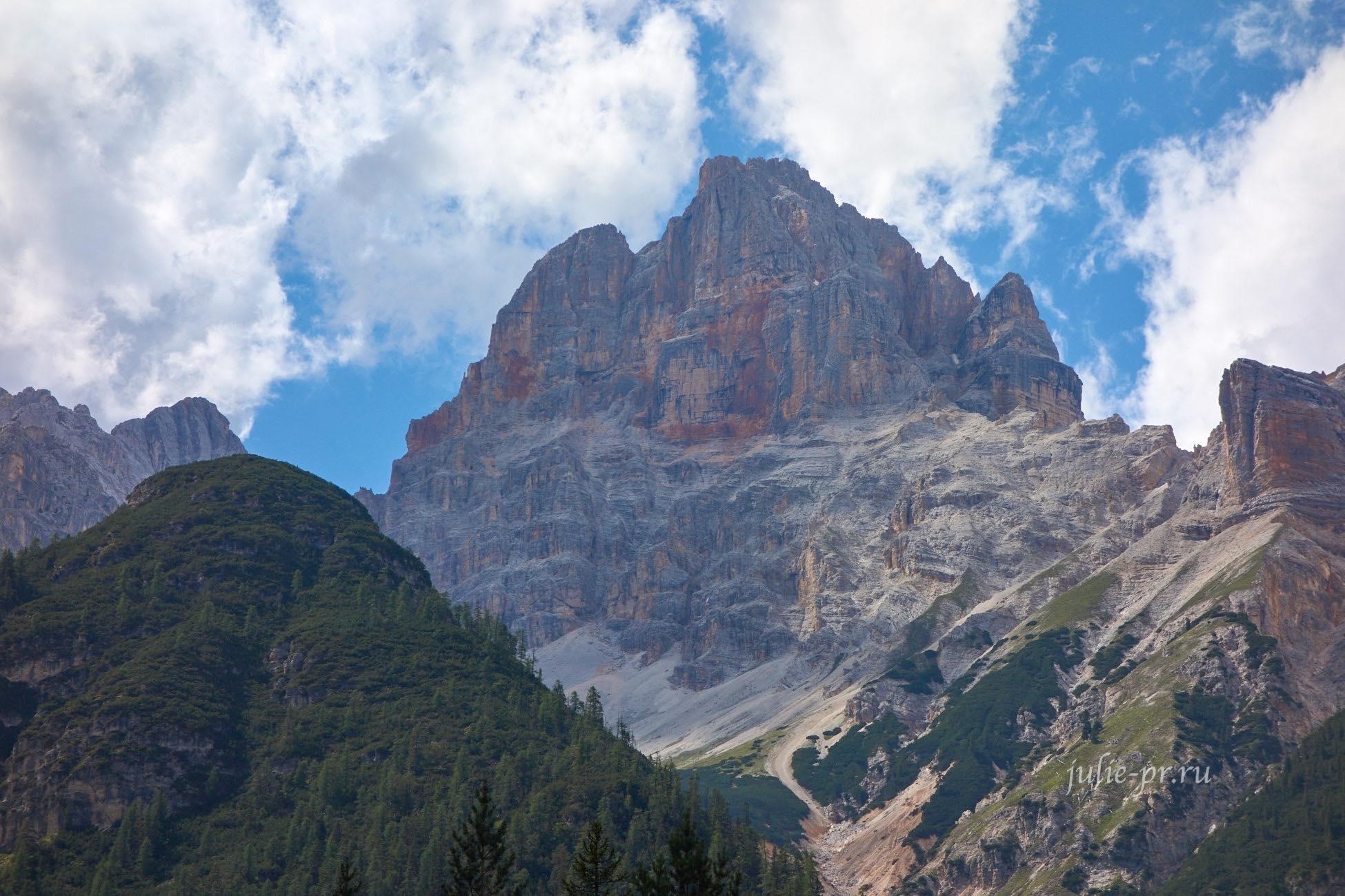 Италия, Альпы, Доломиты, Croda Rossa